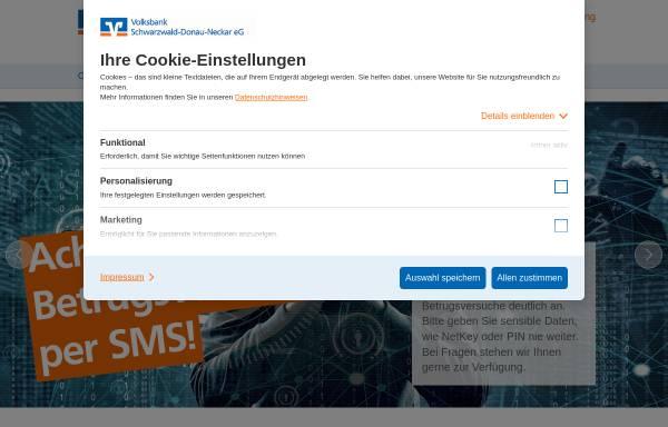 Vorschau von www.vbsdn.de, Volksbank Donau-Neckar eG