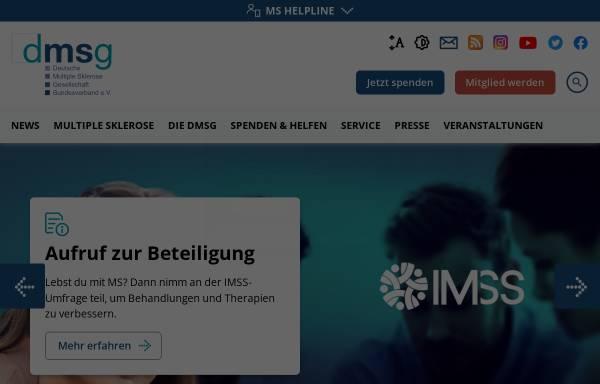 Vorschau von www.dmsg.de, Deutsche Multiple Sklerose Gesellschaft Bundesverband e.V.