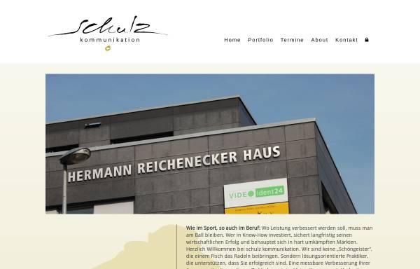 Vorschau von www.schulz-kommunikation.de, Schulz Kommunikation