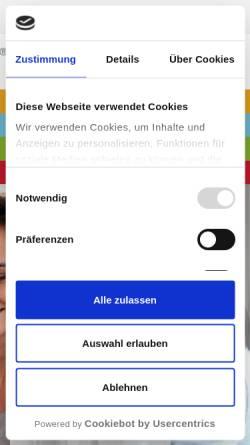 Vorschau der mobilen Webseite www.horta.de, Immobilien Horta