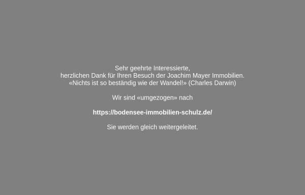 Vorschau von www.mayer-immobilien.de, Immobilien Joachim Mayer
