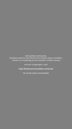 Vorschau der mobilen Webseite www.mayer-immobilien.de, Immobilien Joachim Mayer