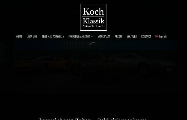 Vorschau von koch-klassik.de, Koch-Klassik