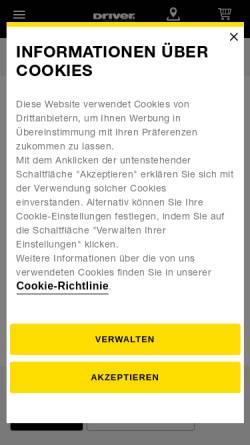 Vorschau der mobilen Webseite reifen-gross.de, Dieter Gross - Reifen- und Autohaus