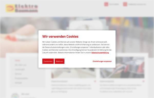 Vorschau von www.elektro-baumann.de, Elektro Baumann GmbH