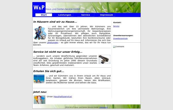 Vorschau von www.wundp-online.de, W & P Haus- und Garten-Service GmbH