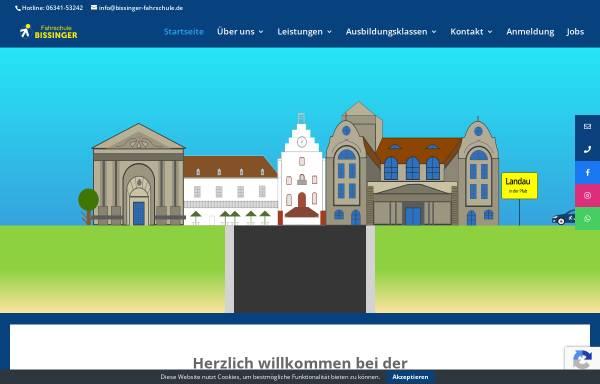 Vorschau von www.bissinger-fahrschule.de, Fahrschule Bissinger