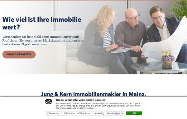 Vorschau von www.jung-kern.de, Jung & Kern Immobilien GmbH