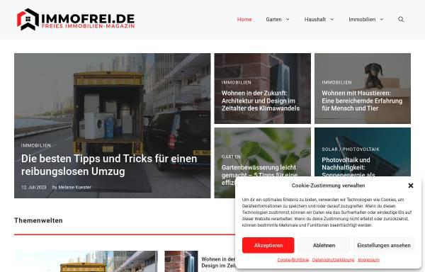 Vorschau von immofrei.de, Immofrei.de