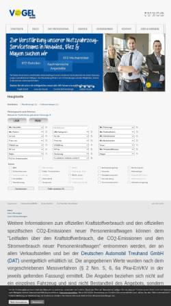 Vorschau der mobilen Webseite autotechnik-vogel.de, Autotechnik Vogel