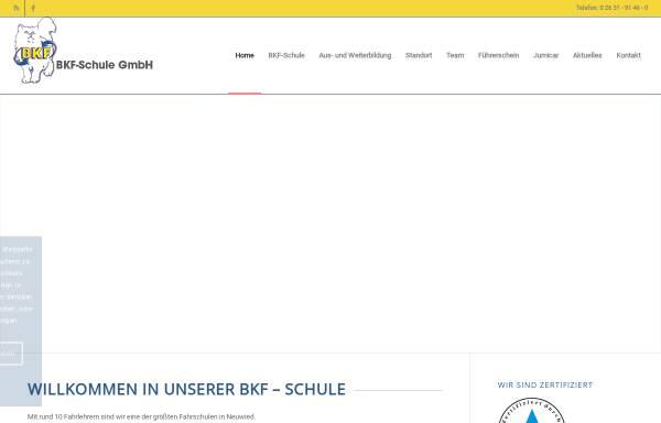 Vorschau von www.bkf-neuwied.de, BKF - Schule
