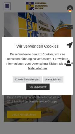 Vorschau der mobilen Webseite www.umweltschutz-germann.de, Klaus Germann Umweltschutz GmbH