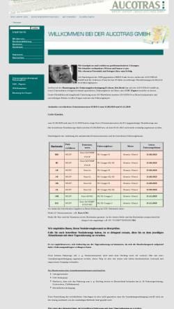 Vorschau der mobilen Webseite www.aucotras.de, Aucotras Import-Export-Dienstleistungs GmbH