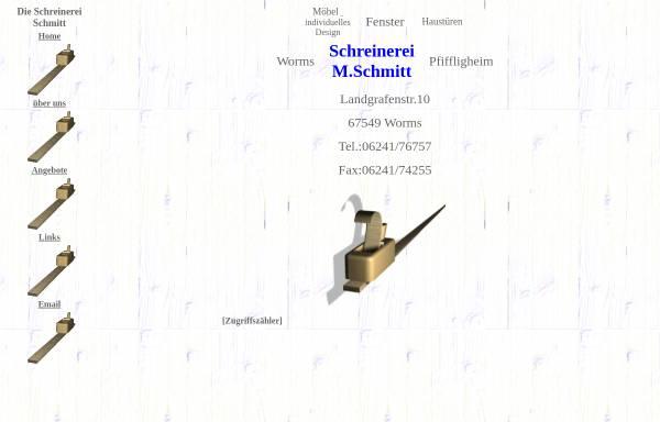 Vorschau von www.schreinerei-m-schmitt.de, Schreinerei M.Schmitt