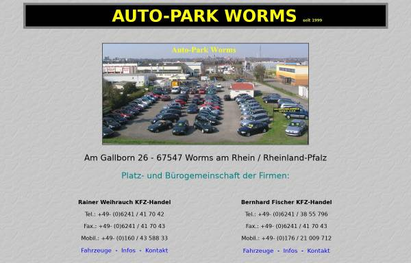 Vorschau von www.auto-park-worms.de, Auto-Park Worms