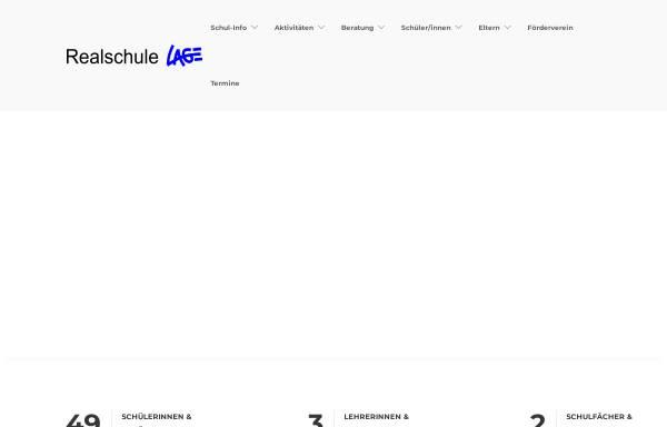 Vorschau von www.realschule-lage.de, Freiligrathschule