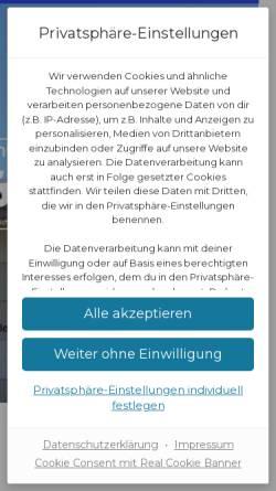 Vorschau der mobilen Webseite www.realschule-lage.de, Freiligrathschule