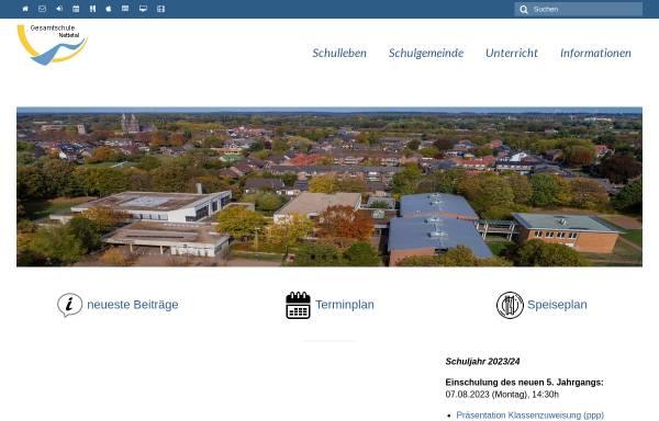 Vorschau von www.ge-nettetal.de, Städtische Gesamtschule Nettetal-Breyell