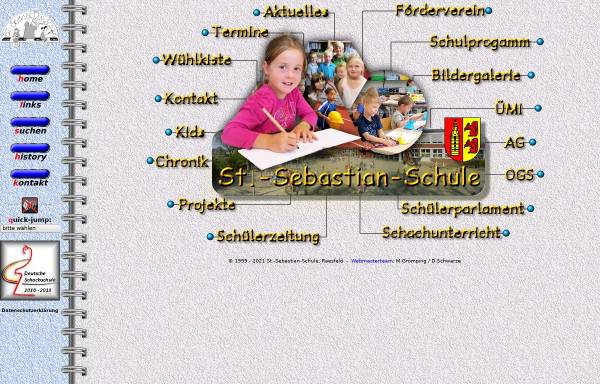 Vorschau von www.sebastianschule.de, St.-Sebastian-Grundschule