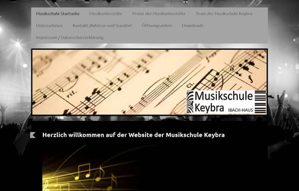 Vorschau von www.keybra.de, Musikschule Keybra