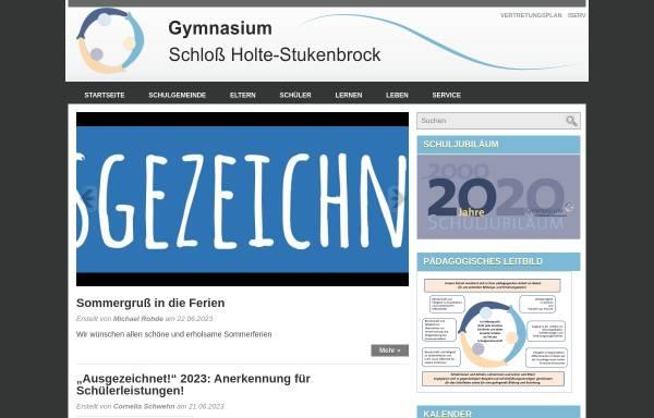 Vorschau von wordpress.gymnasium-shs.de, Gymnasium Schloß Holte-Stukenbrock