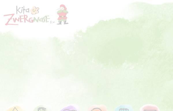 Vorschau von www.kita-zwergnase.de, Kindertagesstätte Zwergnase e.V.