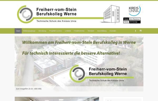 Vorschau von www.bk-werne.de, Freiherr-vom-Stein Berufskolleg Werne