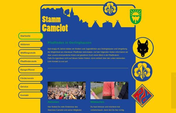 Vorschau von www.stamm-camelot.de, BdP e.V., Stamm Camelot Oerlinhausen