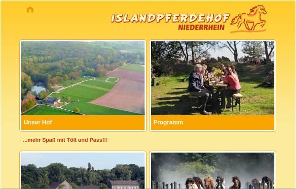 Vorschau von www.islandpferdehof-niederrhein.de, Islandpferdehof Niederrhein