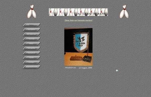 Vorschau von www.kc-ldb.de, Kegelclub Laanz de Bahn