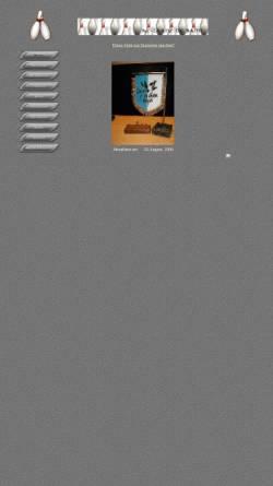 Vorschau der mobilen Webseite www.kc-ldb.de, Kegelclub Laanz de Bahn