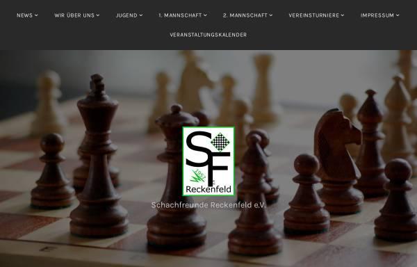 Vorschau von www.schachfreunde-reckenfeld.de, Schachfreunde Reckenfeld e.V.