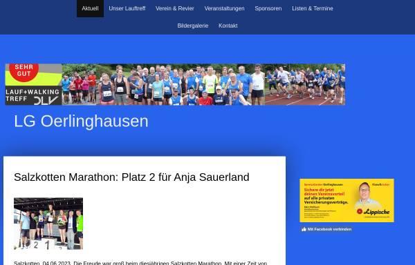 Vorschau von www.lg-oerlinghausen.de, Laufgemeinschaft Oerlinghausen
