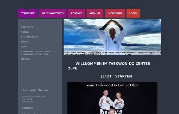 Fußboden König Olpe ~ Taekwon do center olpe sport taekwondo center olpe