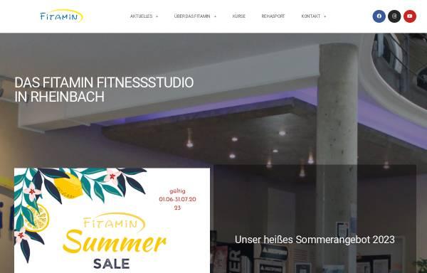 Vorschau von www.fitamin-fitness.de, Fitamin Fitness