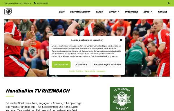 Vorschau von www.hsg-rheinbach.de, HSG Rheinbach-Wormersdorf