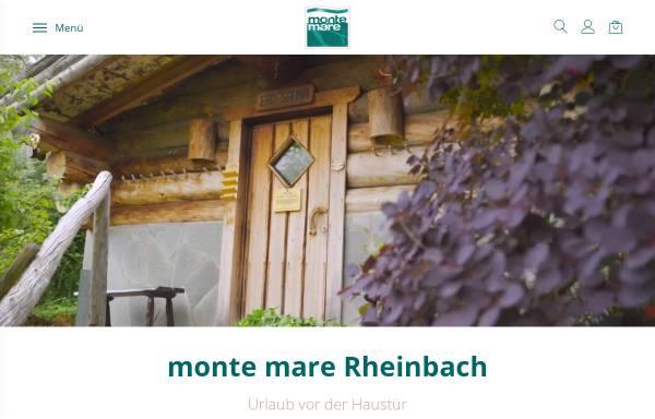 Vorschau von www.monte-mare.de, Monte Mare Rheinbach Freizeitbad GmbH & Co. KG