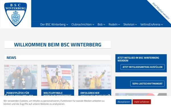 Vorschau von www.bobclub-winterberg.de, Bob- und Schlittensportclub Sauerland Winterberg e.V.