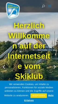 Vorschau der mobilen Webseite www.sk-winterberg.de, Skiclub Winterberg e.V.