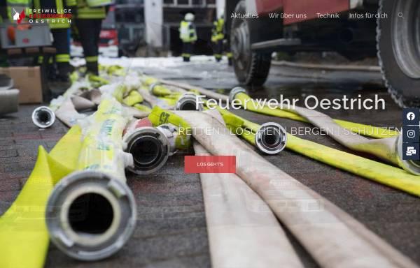 Vorschau von www.feuerwehr-oestrich.de, Freiwillige Feuerwehr Oestrich