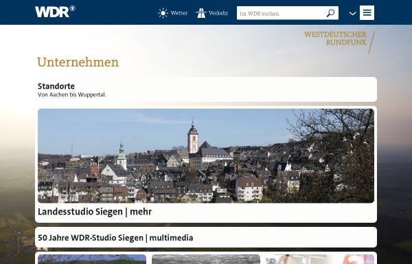 Vorschau von www.wdr.de, WDR Studio Siegen