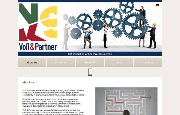 Vorschau von voss-partner.de, Voss & Partner GmbH Personalentwicklung