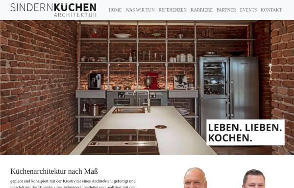 Vorschau von www.sindern.de, Sindern Küchen GmbH