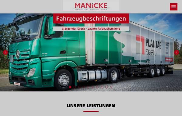 Vorschau von www.manicke.de, Manicke OHG