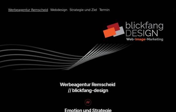 Vorschau von www.blickfang-design.net, Werbeagentur blickfang-design