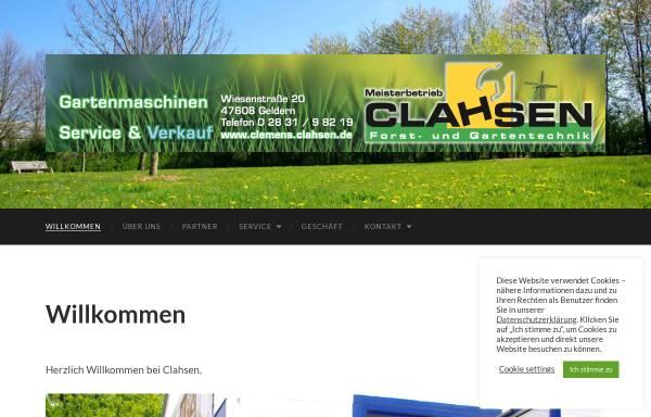 Vorschau von www.clemens-clahsen.de, Clemens Clahsen