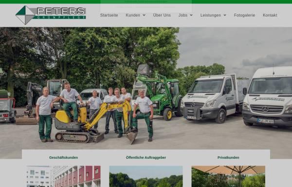 Vorschau von www.friedhelm-peters.de, Haus- & Grundstückspflege Friedhelm Peters