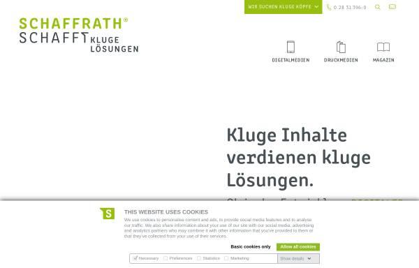 Vorschau von www.schaffrath.de, L. N. Schaffrath DruckMedien GmbH & Co. KG