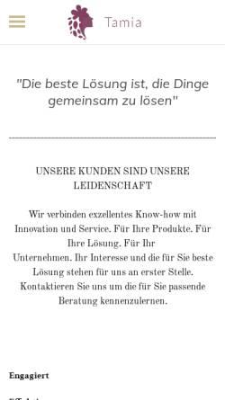 Vorschau der mobilen Webseite www.polfers.de, Ludger Polfer, Beratung und Softwareentwicklung.