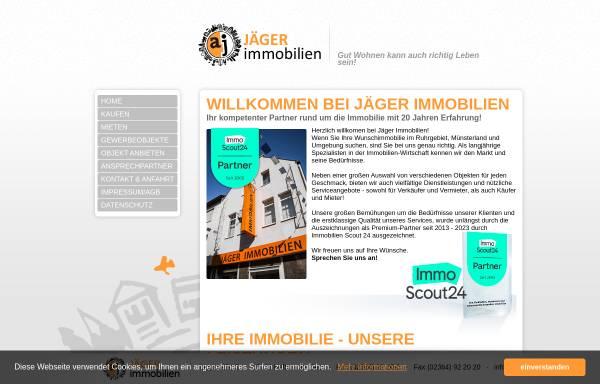 Vorschau von aj-immobilien.de, Angelika Jäger Immobilien